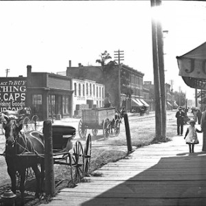 Michigan Avenue, 19th century. Burton Historic Collection.