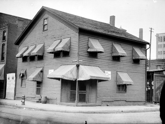 The infamous Bucket of Blood Saloon. Photo: Detroit News Archives