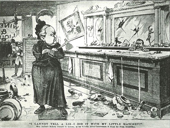 1895 cartoon by Amelia Moore